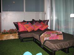 Mi primer tuneo con palets para terraza | Decorar tu casa es facilisimo.com