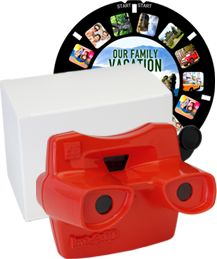 Put your holiday photos into the view master format... fun idea!