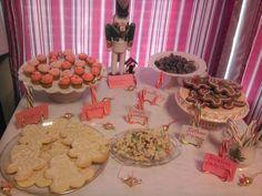 Nutcracker Party dessert table.