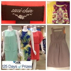 A girl can never have too many pretty dresses! Have you entered for a chance to win a $500 Suzi Chin dress wardrobe? #belk125
