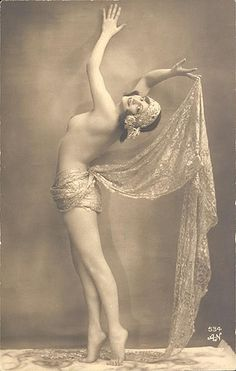 Alfred Noyer, Vintage pin-up, 1920s by Gatochy