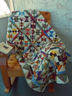 """Carrie Nelson's """"Pick & Choose"""" Pattern from an American Patchwork & Quilting"""