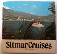 Sitmar Cruises Matchbook - Fairstar Fairsky in VGC Cigarettes 1960's ?1970's ? (eBay item 200840946558 end time 30-Nov-12 16:27:08 AEDST) : Collectables