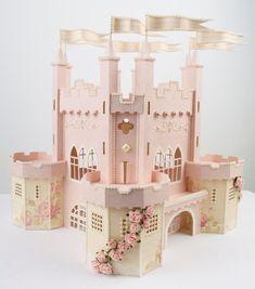 Click through and FOLLOW this girl! Amazing paper crafts <3 Tara's Studio Jun 2013 castle img 20