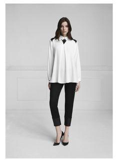 Soran Shirt, Siska Pants #annefontaine #fall #winter #whiteshirt #fashion www.annefontaine.com shirt