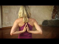 ▶ Yoga for Opening the Shoulders - YouTube, such a good routine if you sit at the computer all day like I do. Only 12 minutes. Doing this every day after work!