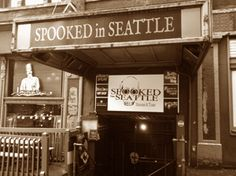 Real Ghost Stories By Real Ghost Hunters | Spooked In Seattle- Going to book for Halloween