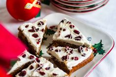 Paleo Cranberry Bliss Bars: Paleo Spirit