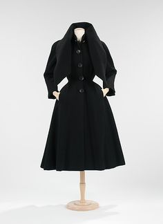 """""""New-York"""", Christian Dior, fall/winter 1950–51, French, wool"""