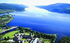 #Scotland has over 600 square miles of lochs (lakes). One of the most being #LochNess, where a mysterious sea monster lurks in the depths of the water!