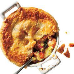 300-Calorie Dinners: Chicken, Potato, and Leek Pie | CookingLight.com