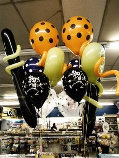 Halloween Printed Balloons :) Order yours today.