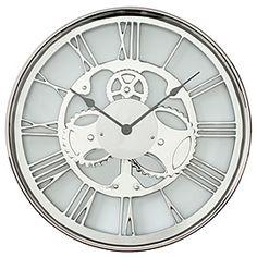 chic furniture, metals, metal gear, living room walls, gear clock, wall clocks, gears, high times, contemporary design