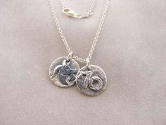 Sterling Silver Capricorn Zodiac Sign Necklace.