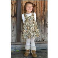 Girl's jumper sewing pattern, easy pattern, child sewing pattern, sundress, toddler dress, infant dress, beginner sewing pattern Sewing Pattern