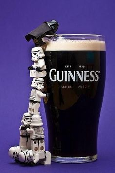 Even when it comes to alcohol, Darth Vader likes it on the dark side.