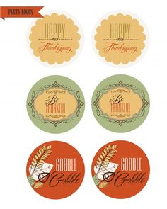 Free Thanksgiving printables #thanksgiving #freeprintables