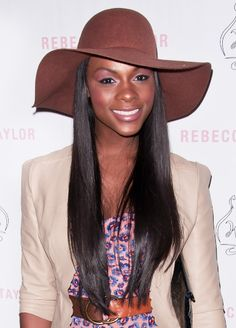 Tika Sumpters hat hairstyles