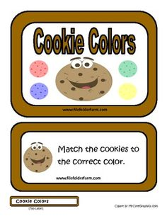 Cookie Colors Folder Game