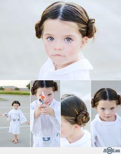 Cute Princess Leia Costume
