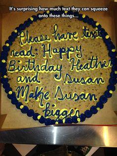 Baker Took It Too Literal
