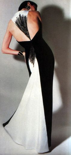 Bill Blass, American Vogue, September 1984....