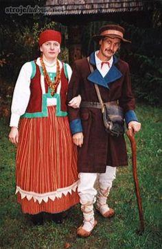 Polskie stroje ludowe, Stroje kurpiowskie z Puszczy Zielonej, 1984 r./ Polish Folk Costumes from Kurpie Region, Puszcza Zielona