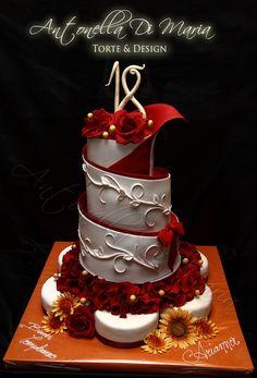 antonella di, cake idea, di maria, wedding cakes, spiral cake