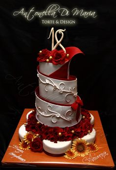 "Album ""Birthday Cake Photos"" — Photoset 461 of 203387 antonella di, cake idea, di maria, wedding cakes, spiral cake, cake photo, amaz cake, cake art, birthday cakes"