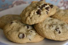 Bakergirl: Soft, Chewy Chocolate Chip Cookies.