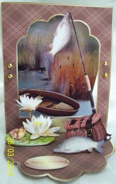 CUP OPEN EASEL CARD