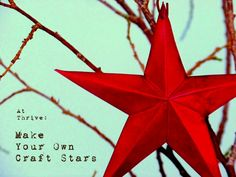 Make your own Craft Tin Stars out of disposable baking pans! Great recycling or dollar store craft!