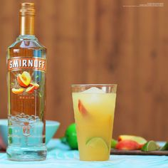 All you need to have an awesome #LaborDay party is the Beachside Peach, some sand and people you know. Just mix 1.5 oz Smirnoff Peach, 1.5 oz pineapple juice, 1.5 oz cranberry juice cocktail, a dash of lime juice, and finish with 2 oz. ginger ale. TotallyNotWorking