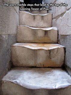 Old marble steps…