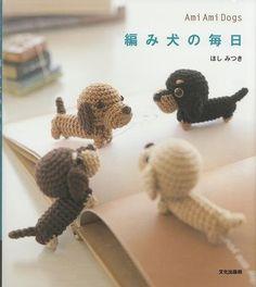 Ami Ami Dogs Vol.1 - Mitsuki Hoshi - Japanese Crochet Pattern Book for Kawaii Amigurumi