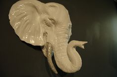 The ORIGINAL RHINESTONE Taxidermy Elephant By: BeJanked
