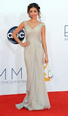 precious dress; 64th Primetime Emmy Awards - Arrivals