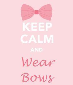 wear bow, life, girl, bows, babi