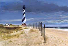 memori, famili, capes, lighthouses, travel, beach, place, cape hattera, north carolina