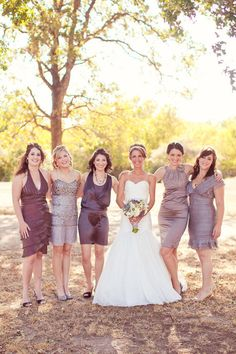 Great Bridesmaids Dresses ~ Photography by halforangephotography.com
