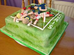 Rugby Cakes and Cupcakes