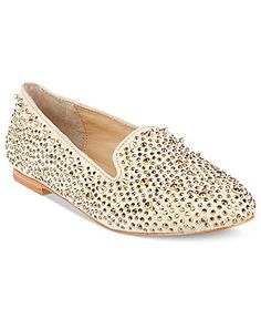 Shoe Trend: Rock out! STEVE MADDEN #shoes #flats #studs BUY NOW!