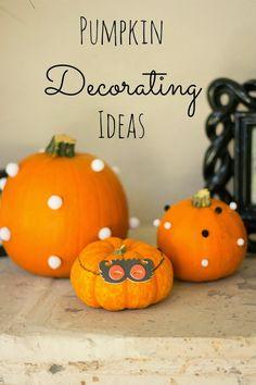 #Pumpkin Decorating Ideas