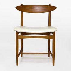 Heywood Wakefield Danish Modern style chair by RepurposedModern, $210.00