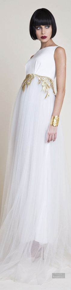 Glamour Gown...Azzi & Osta. FALL-WINTER 2014-2015.