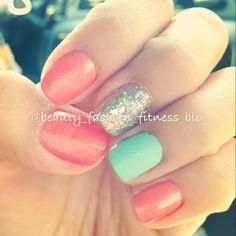 Summer nails doing this as we speak :)