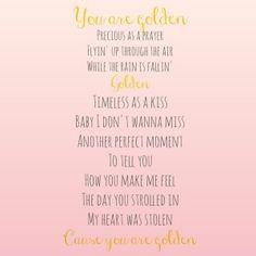 Golden // Inspired By Giving // Lady Antebellum Lyrics