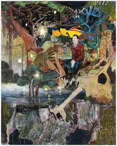 "hernan bas art | Hernan Bas ""Deep in the Dark of Texas"" at Galerie Peter Kilchmann ..."