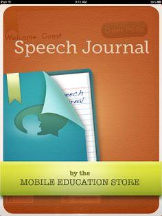 Speech Time Fun: Speech Journal ((app review & giveaway))