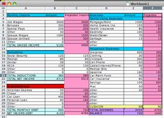 How to create a simple budget sheet in Excel! (works for Mac Numbers too!) Doing this ASAP